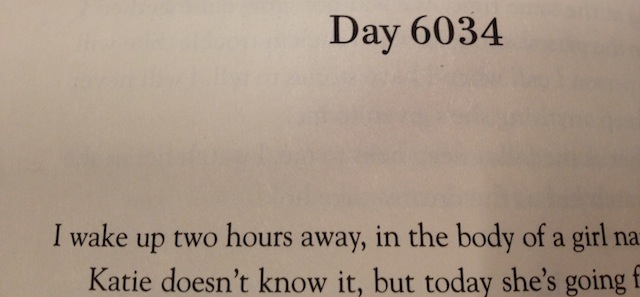 Every Day, last page