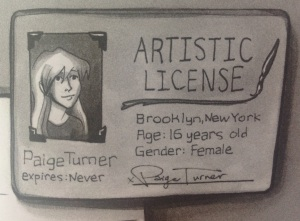 paige turner, license