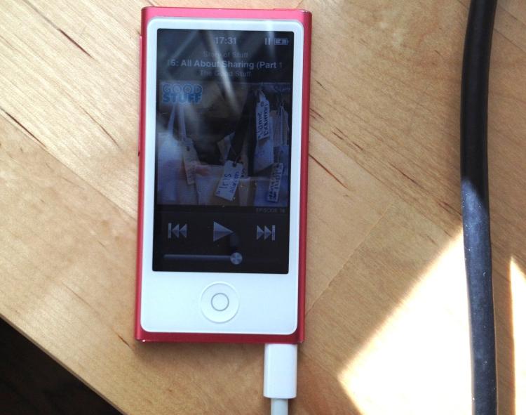 laundered iPod nano still woks!