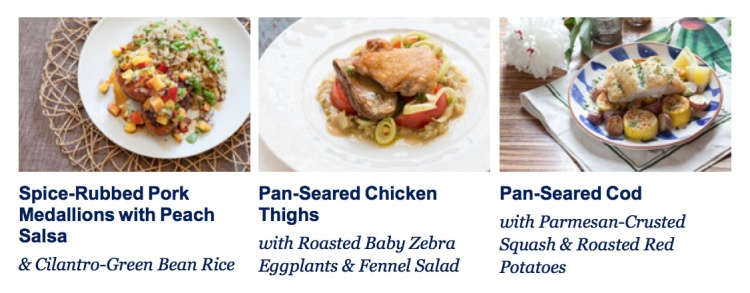 blue apron meals, aug 15 2014