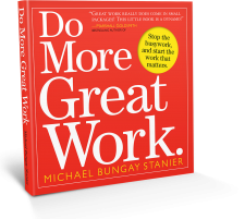 Do More Great Work, cover