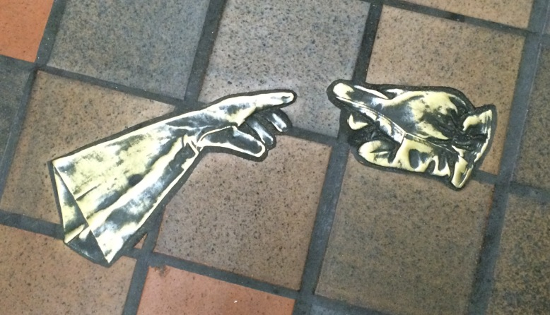 bronze gloves in Porter Square